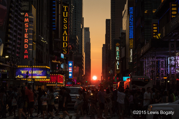 Manhattanhenge July 11, 2015
