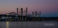 Tappan Zee Bridge: Daybreak, November 5, 2016