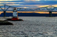 Tappan Zee Bridge & Tarrytown Light 2010