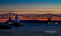 Tappan Zee Bridge & Tarrytown Light: 2015