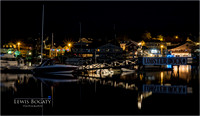 Boothbay Harbor At Night