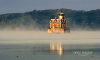 Hudson-Athens Lighthouse After Sunrise