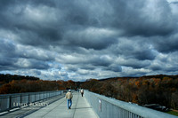 Storm Approaching, Walkway Over The Hudson